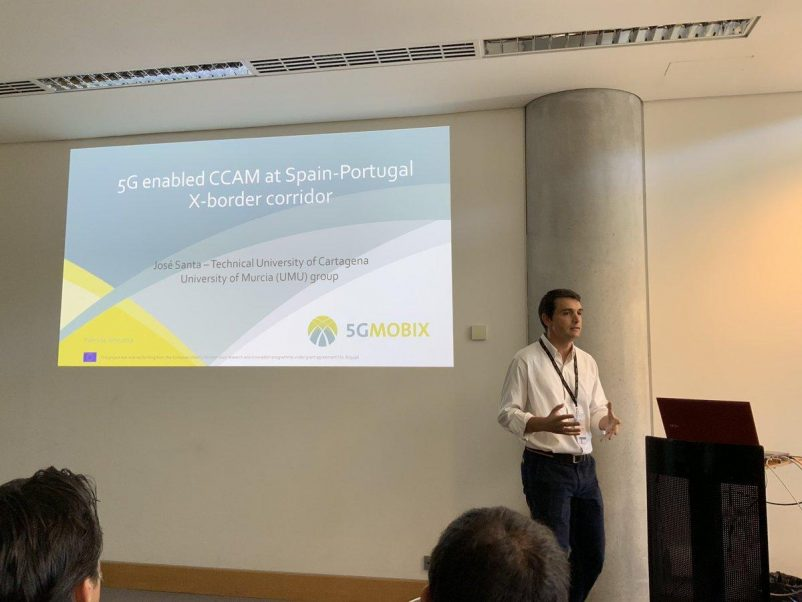 Jose Santa describes gives interesting highlights about the 5G-MOBIX Spain-Portugal border tested in the trials