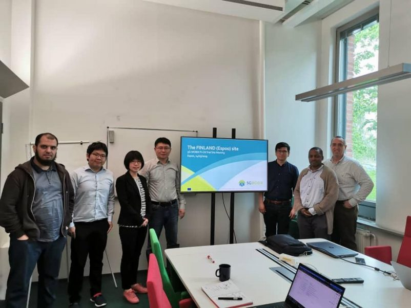 Prof. Yanjun Shi, from Dalian University of Technology, visits Aalto University, Finland in May 2019.