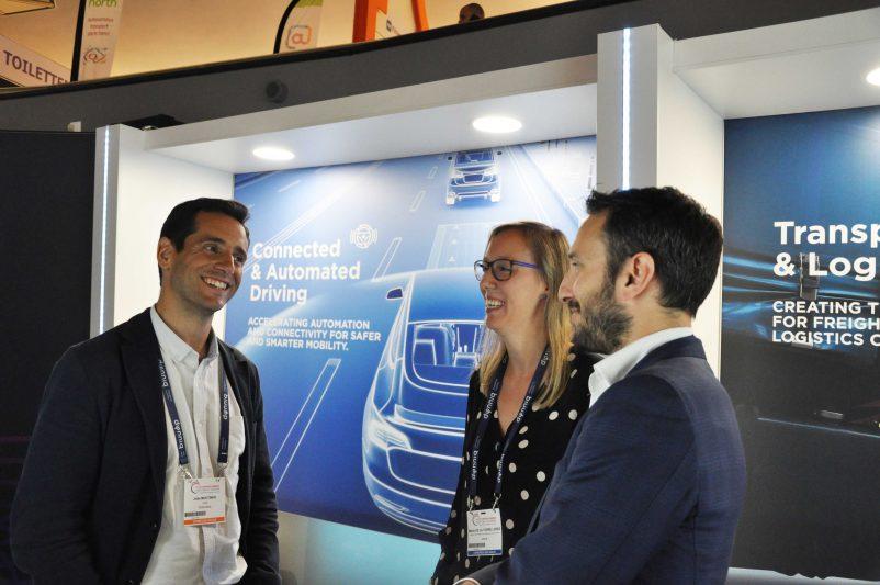 João Moutinho of Centro de Computação Gráfica, María de la Torre López, CTAG and Kostas Trichias, WINGS ICT Solutions