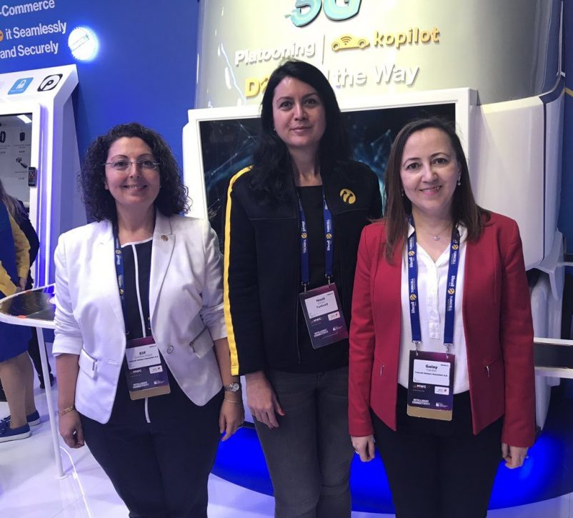 Meet Elif, Nazli and Gulay from Turkcell 5G R&D team. Turkcell's very first collaboration with ERTICO in an EC project and instigated by these committed engineers.