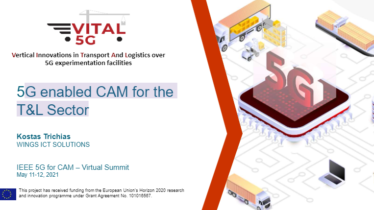IEEE 5G for CAM Virtual Summit - 5G enabled CAM for theT&L Sector