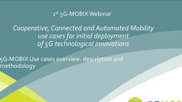 5G-MOBIX Use cases overview: description and methodology