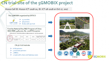 Progress report of the Chinese trial site