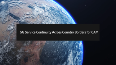 IEEE 5G for CAM Virtual Summit - Keynote 4: 5G Service Continuity Across Country Borders for CAM