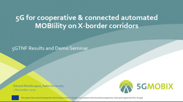 5G-MOBIX: 5G for cooperative & connected automated Mobility on X-border corridors