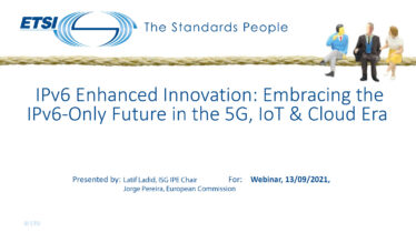 IPv6 Enhanced Innovation: the IPv6-Only Future in the 5G, IoT & Cloud Era