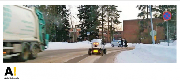 Automated Vehicles in Winter Traffic