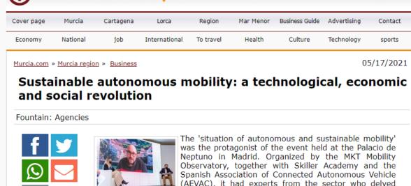 Sustainable autonomous mobility: a technological, economic and social revolution