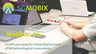First 5G-MOBIX webinar to take place in September 2019