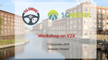 Register for the upcoming  V2X Workshop in collaboration with 5G-DRIVE