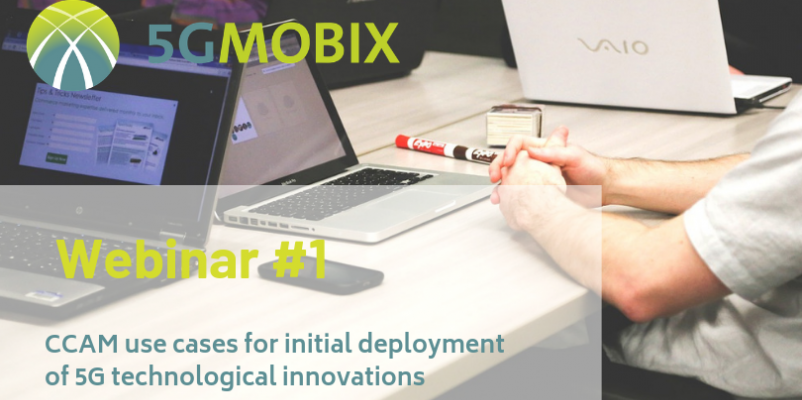 Registration for 5G-MOBIX 1st webinar is now open!